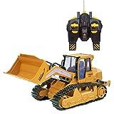 CZALBL Bulldozer dell'escavatore Controllato a Distanza, Veicolo di ingegneria di Telecomando del Giocattolo dei Bambini, è conduttivo per l'abilità Pratica dei Bambini e Lo Sviluppo del Cervello