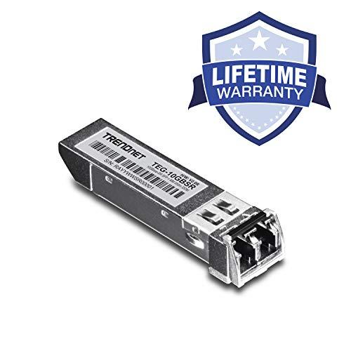 TRENDnet 10G-SR SFP+ Modul, Multi-Mode, LC Transceiver Modul, Bis zu 550 m, TEG-10GBSR Ip Office-modulen