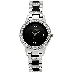 Fabiano New York Silver Women's & Girl's Casual Analog Wrist Watch