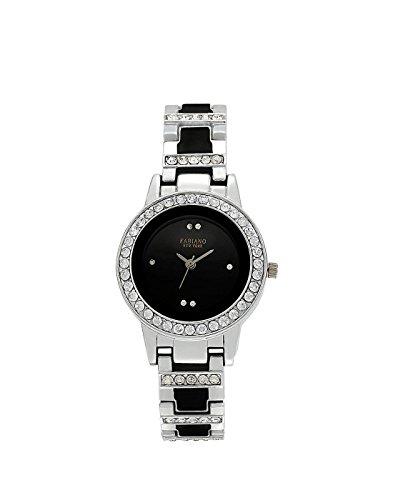 Fabiano New York Silver Women\'s & Girl\'s Casual Analog Wrist Watch