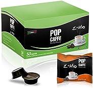 50 CAPSULE POP CAFFE' E-MIO 1 INTENSO COMPATIBILI LAVAZZA A MODO
