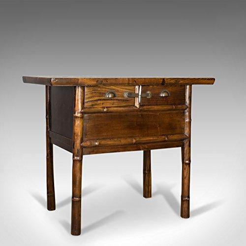 London fine di antiquariato orientale tavolino, olmo cinese cabinet, late 20th century