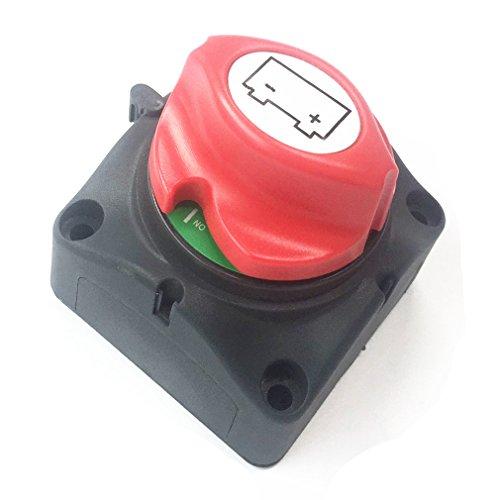 Preisvergleich Produktbild Qiorange Batterie-Trennschalter 12-48V 275/1250A on/Off Akku Power Cut Off Schalter für Marine Boot Caravan Kfz Fahrzeuge (Type D 1 Stück)