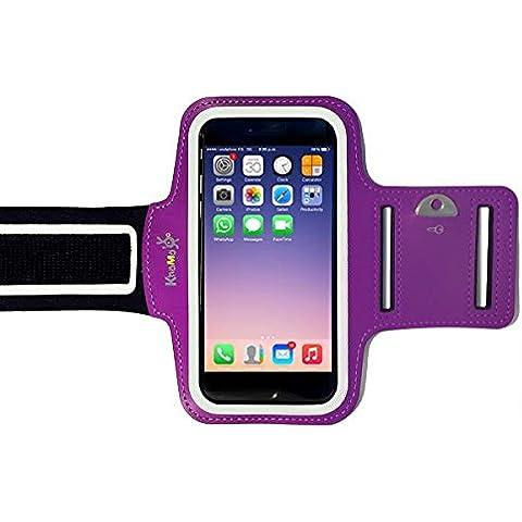 KHOMO® Armband Purple iPhone 6 PLUS y 6S PLUS (5.5
