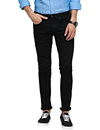 Red Tape Men's Slim Fit Jeans (RTD6891-30_Rinse Black)