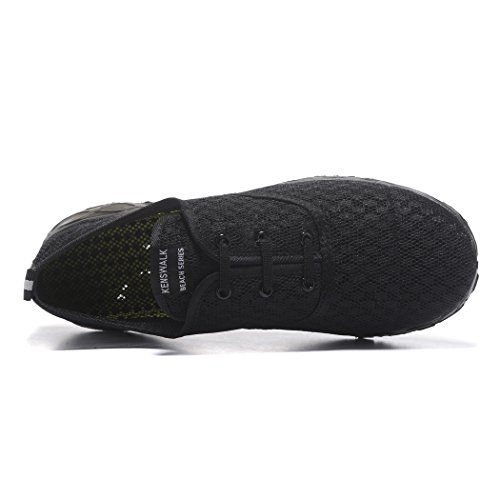 Kenswalk , Herren Aqua Schuhe All Black