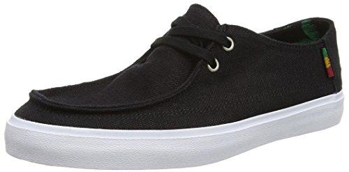 Vans Herren Rata Vulc Sf Sneaker Schwarz (hemp/black/rasta)