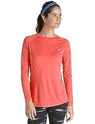 Coolibar Damen Sports T-Shirt Long Sleeve Tee UPF 50 Plus