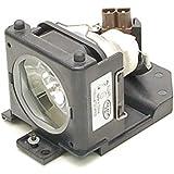 Alda PQ Premium, Lampe de projecteur pour HITACHI PJ-LC7 Projecteurs, Lampe avec logements