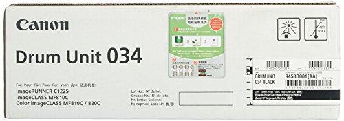 Canon 034 32500páginas Negro – Tambor de impresora (ImageClass Mf820Cdn/MF810Cdn, 32500 páginas, Laser, Negro, Naranja, Negro)