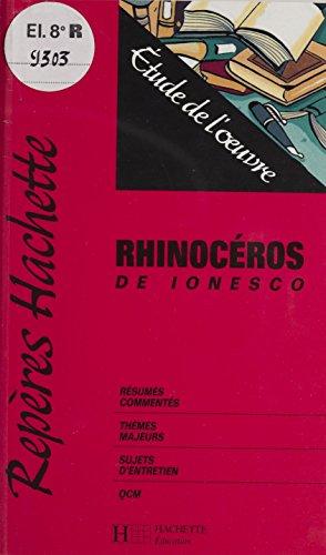 «Rhinocéros» de Ionesco: Étude de l'œuvre