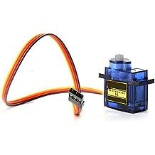 Hrph 1/ 5/10 piezas Mini SG90 servo micro motor para RC Avión Helicóptero del robot controla coche del barco