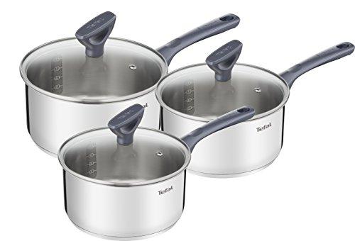 La batterie de casseroles Tefal en inox