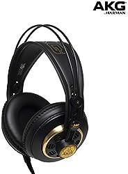 AKG K240 Studio Professional Over-Ear Headphones, Black
