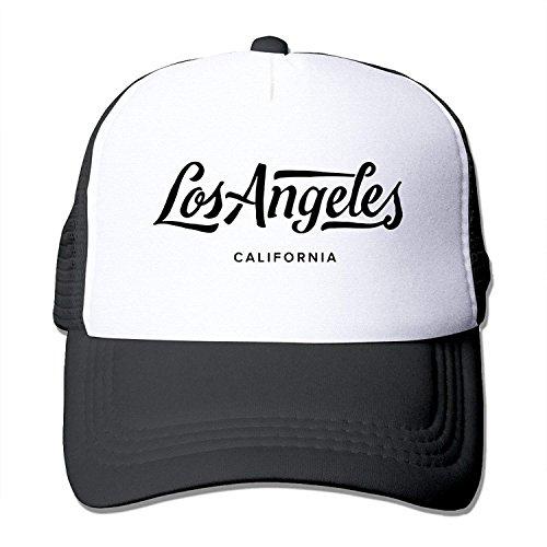 Los Angeles California Mesh Unisex Adult-One Size Snapback -