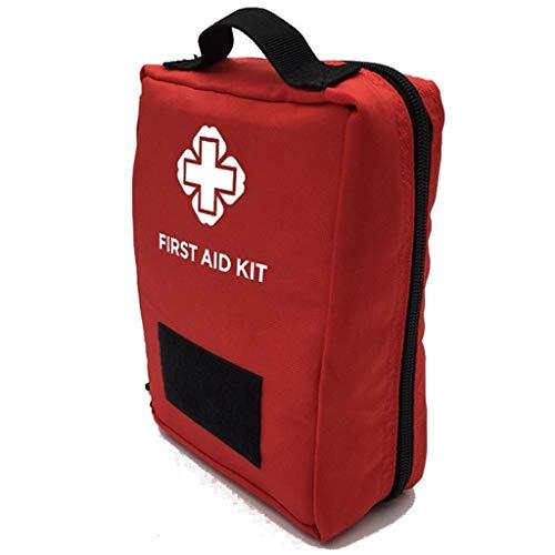 NYDZDM Notfall-Kits Outdoor Multi-Funktions-Reise-medizinische Tasche, Erste-Hilfe-Kit Aufbewahrungstaschen Befestigung Taille Pack (Farbe : Rot) - Taille Befestigung