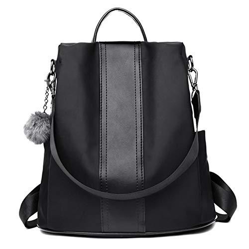 089cb7cd4eb8e Lolly-U Anti thief USB Oxford Cloth Nylon Rucksack bagpack 15.6inch laptop  backpack for