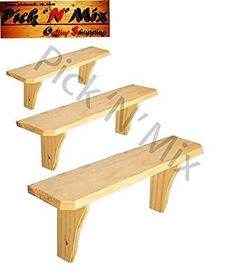 Core Pine Shelf - Durable Wooden Shelf - Wall Mounted Floating Shelf 2 feet or 3 feet or 4 feet