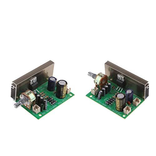 IPOTCH 2pcs 20 Watt Mono Kanal Stereo Audio verstärker Platine Modular -