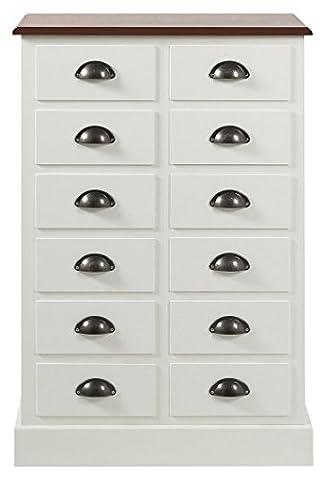 Commode En Bois Vieilli - AC Design Furniture Commode