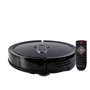 moneual mr7700 b robot aspirateur noir cuisine maison. Black Bedroom Furniture Sets. Home Design Ideas