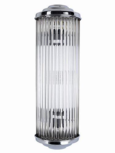Wandlampe Art Deco Leuchte Petitot Wandleuchte Metropolis Kinolampe Glasstäbe XC02 Palazzo Exklusiv