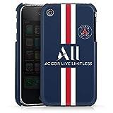 DeinDesign Coque Compatible avec Apple iPhone 3Gs Étui Housse Paris Saint-Germain Maillot PSG Produit sous Licence Officielle PSG
