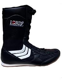 Starport Shoes STARPORT Sports Black Boxing Shoes for Men (Black)