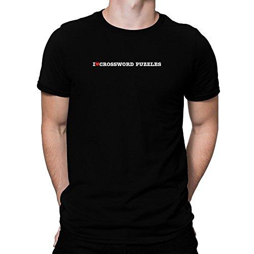 Teeburon I love Crossword Puzzles Camiseta