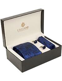 Cazzano Checkered Men's Tie Set (TCPNC131)