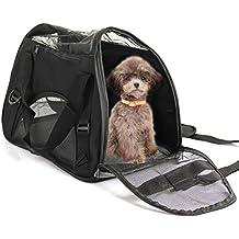 D4P Display4top de Transportín de Viaje para Mascotas, cómodo, Ampliable, Plegable, para