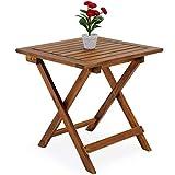 Deuba Gartentisch klappbar aus Akazienholz - 8