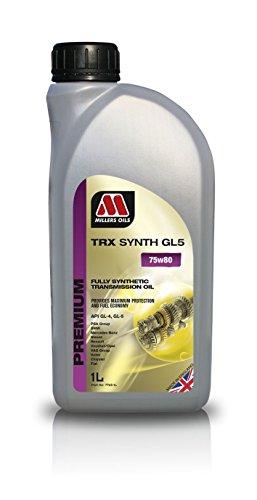 Millers TRX Synth 75W80GL5– Olio di Trasmissione per Motori,1litro