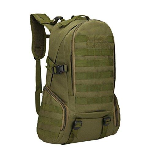LF&F Outdoor 30-35L Kapazität Rucksack Bergsteigen Tasche Sport Wandern Tasche Camouflage taktischen Rucksack Camping Rucksack wasserdichtes Nylon Anti-Riss Casual Bag B