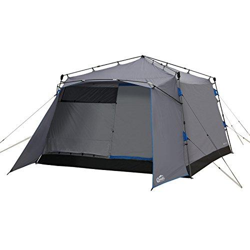 Qeedo Quick Villa 5, Sekundenzelt für 5 Personen, Familien-Zelt mit Stehhöhe - grau - 3