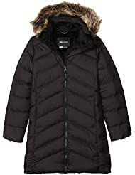 Marmot Girls 'montreaux abrigo., niña, color True Black, tamaño L