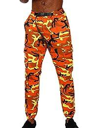 Mxssi Camouflage Cargo Pants Uomo Pantaloni Baggy Tactical Pantaloni Hip Hop  Cotone Multi Tasche Pantaloni Casual cb368e967794