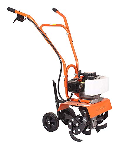 NEPTUNE SIMPLIFY FARMING Garden Mini Power Tiller/Cultivator/Rotary/Weeder with 2 Stroke 52 CC Engine (NC-52-Bottom)