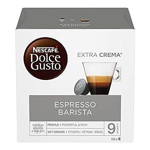 Nescafé Dolce Gusto Barista Caffè Espresso, 6 Confezioni da 16 Capsule (96 Capsule)