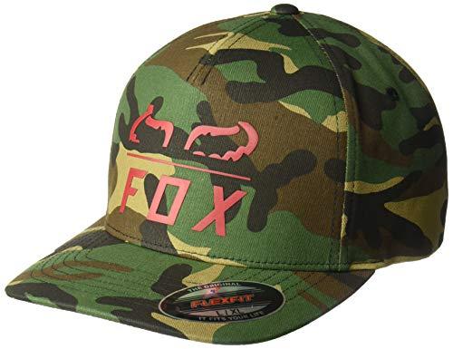 Fox Herren Furnace Flexfit HAT Baseball Cap, grün camo, X-Large