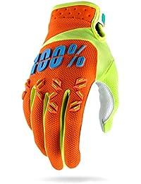 100% Airmatic Gants Mixte Adulte, Orange, FR : M (Taille Fabricant : M)
