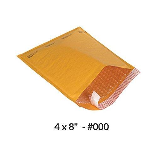 Luftpolsterversand, Kraftpapier, 10 x 20 cm, 500 Stück (Mailer Poly 10x12)
