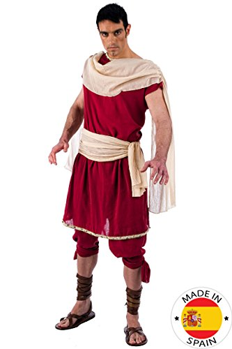 Griechischer Gott Herren Kostüm 2tlg Tunika u Hose für Fasching Karneval Gr. L (Griechischer Männer Gott Kostüm)