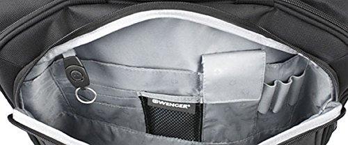 Wenger Businesstrolley Laptop Rollkoffer, 31 Liter, Schwarz schwarz