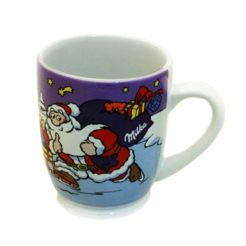 Milka Tasse par ex. Pour Cacao ou Café, avec des Motifs de Noël Edition Nr. 13, 25 cl