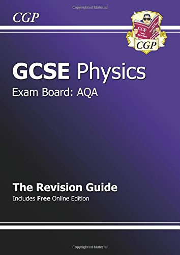 GCSE Physics AQA Revision Guide (with Online Edition) (A*-G Course) Cover Image