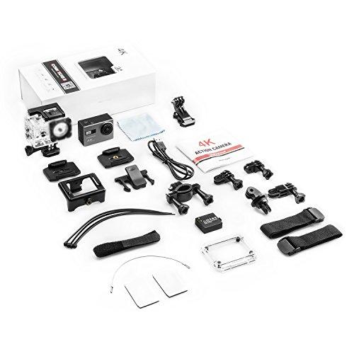 ICONNTECHS IT 4K Ultra HD Wasserfeste Sport-Actionkamera, 170° Weitwinkellinse, Full HD 1080P WiFi HDMI camcorder, Gratis Zubehör für Helm, Tauchen, Radfahren und Extremsport - 6