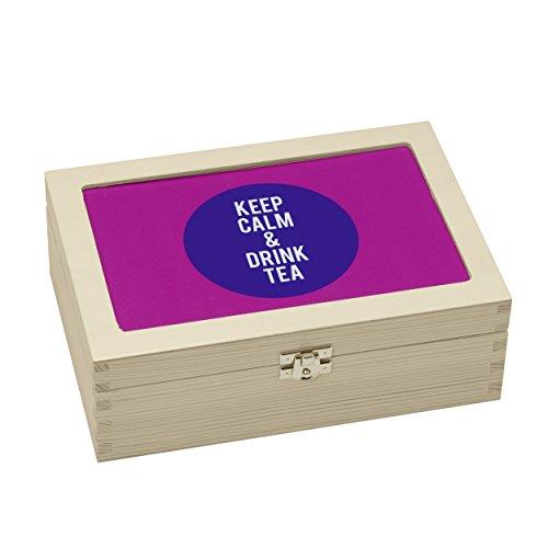 Contento Teebox, Holz,
