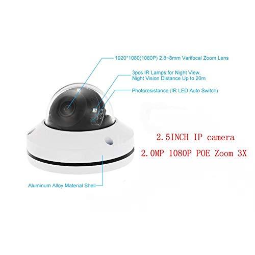 Class-Z überwachungskamera Wireless 1080P Outdoor,Dome-Kamera mit 3fach optischem Zoom Schwenk- / Neigungs- / 3X-motorisierter Zoom, Dome-Stil für die Deckeninstallation