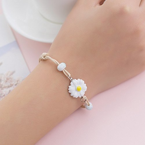 hrcxue hand-woven Armband Female einfach Student Sen Girlfriend Birthday Gift Small Fresh Sister Ceramic Jewelry -